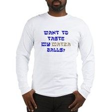 Cute Yiddish Long Sleeve T-Shirt