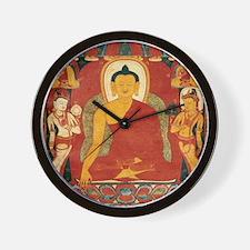 Vintage Buddha Wall Clock
