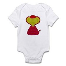 Cartoon Cobra Snake Infant Bodysuit