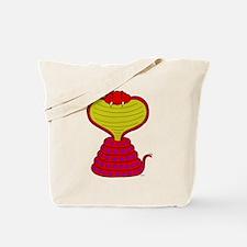 Cartoon Cobra Snake Tote Bag