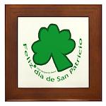Feliz San Patricio Framed Tile