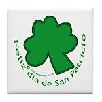 Feliz San Patricio Tile Coaster