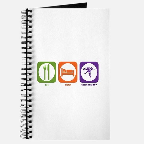 Eat Sleep Choreography Journal