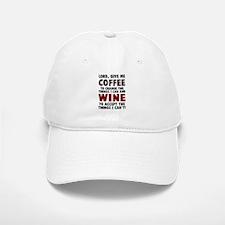Coffee and Wine Baseball Baseball Cap