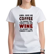Coffee and Wine Tee