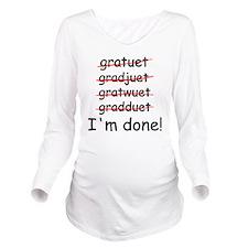 gardtuet Long Sleeve Maternity T-Shirt