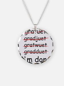 gardtuet Necklace Circle Charm