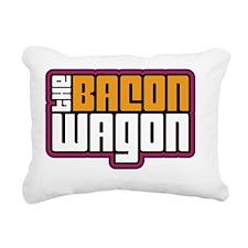 baconwagon Rectangular Canvas Pillow