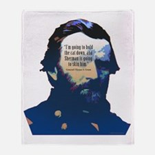 General Ulysses S. Grant Throw Blanket