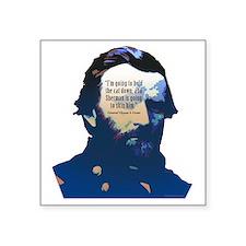 """General Ulysses S. Grant Square Sticker 3"""" x 3"""""""