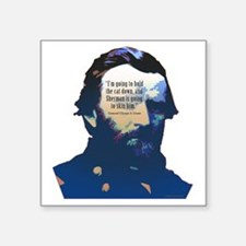 "General Ulysses S. Grant Square Sticker 3"" x 3"""