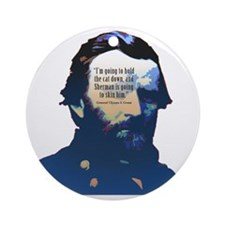 General Ulysses S. Grant Round Ornament