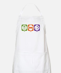 Eat Sleep Claims BBQ Apron