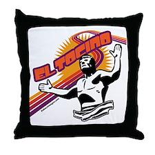 el tocino Throw Pillow