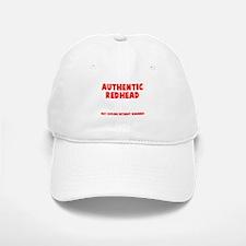 Authentic Redhead Baseball Baseball Cap