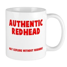 Authentic Redhead Small Mug