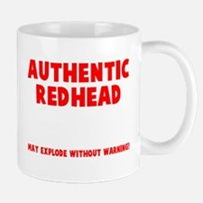 Authentic Redhead Small Small Mug