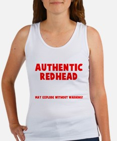 Authentic Redhead Women's Tank Top