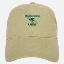 Underwriting Chick #3 Baseball Baseball Cap