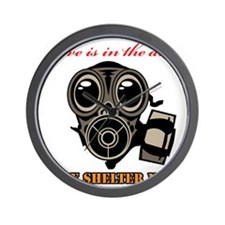 Love is in the Air Mask Wall Clock