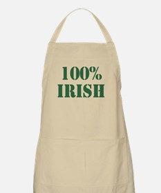 100% Irish BBQ Apron