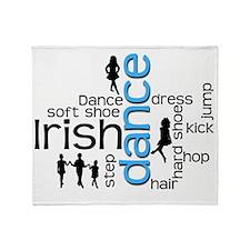 Irish Dance Throw Blanket
