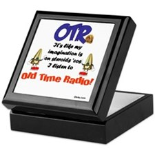 OTR Imagination Old Time Radio Keepsake Box
