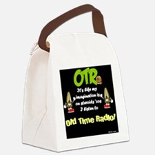OTR Imagination Dark Old Time Rad Canvas Lunch Bag