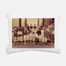 Reunion 1929 Huge Rectangular Canvas Pillow