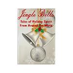 Jingle Bells Book Cover Magnets