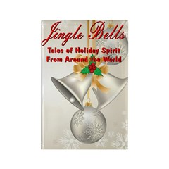 Jingle Bells Book Cover Magnets