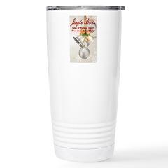 Jingle Bells Book Cover Travel Mug