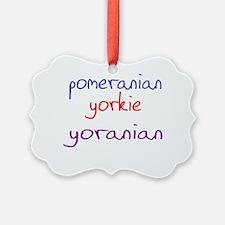yoranian_black Ornament