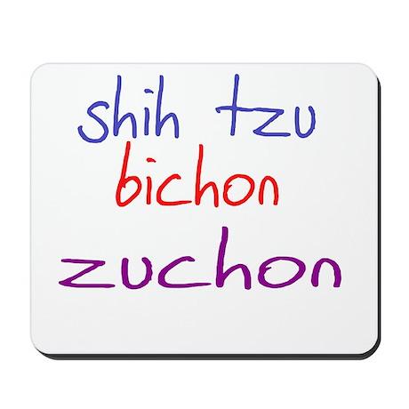zuchon_black Mousepad