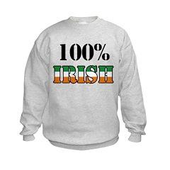 100 Percent Irish Sweatshirt