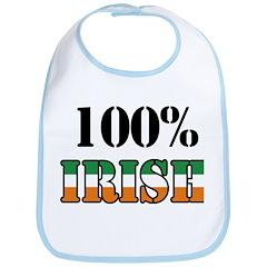 100 Percent Irish Bib