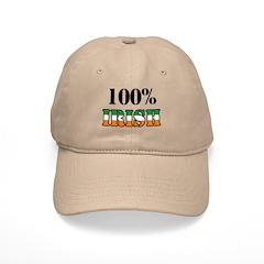 100 Percent Irish Baseball Cap