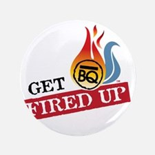 "Get Fired Up Logo 3.5"" Button"
