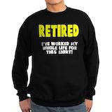 Grandpa retired Sweatshirt (dark)
