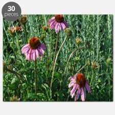 Flowers in Grass Puzzle