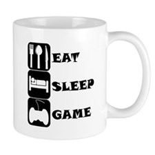 Eat Sleep Game Mugs