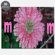 Flower Mom Puzzle