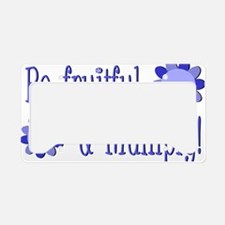 Be fruitful and multiply! blu License Plate Holder