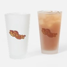 Had Me At Bacon White Drinking Glass