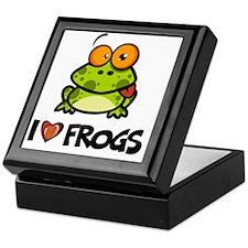 ILoveFrogs6 Keepsake Box