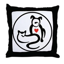 PP NEW logo_icon Throw Pillow
