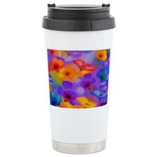 Beautuful Flowers Travel Mug