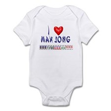 I LOVE MAH JONG Onesie