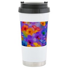 Beautiful Flowers Travel Coffee Mug