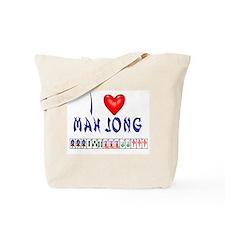 I LOVE MAH JONG Tote Bag